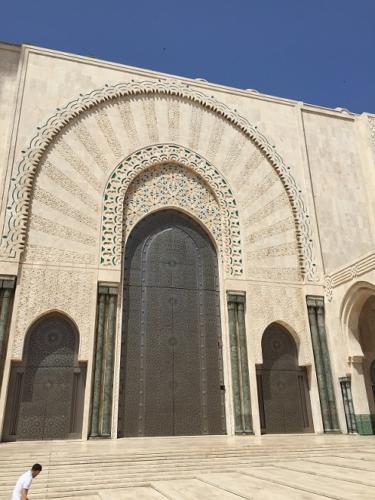 Hassan II door